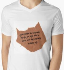 Thought of the day Men's V-Neck T-Shirt