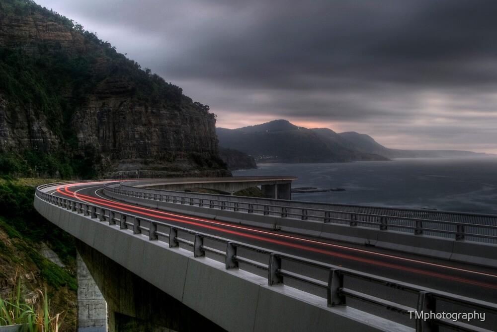 Storm Cliff Bridge by TMphotography