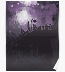 flowers at night Poster