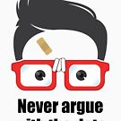 ★ Never argue with the data. | White Version by cadcamcaefea