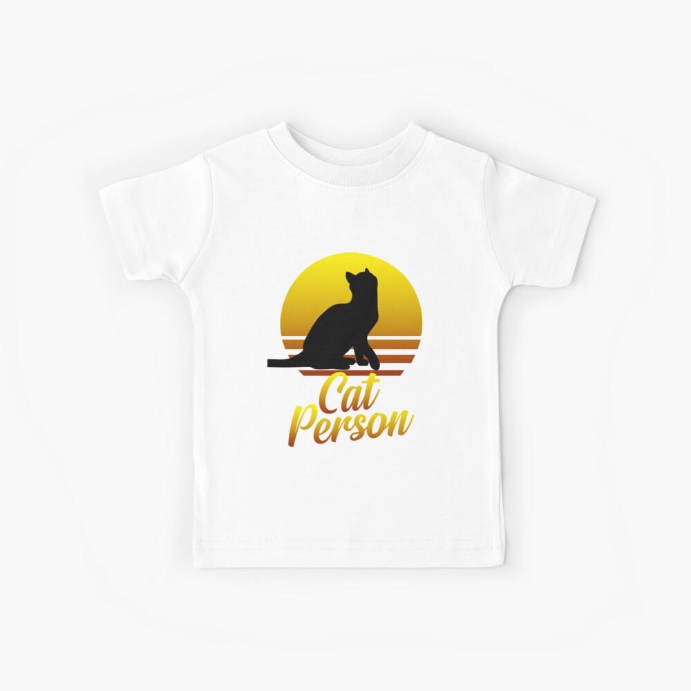 Katze Kinder T-Shirt