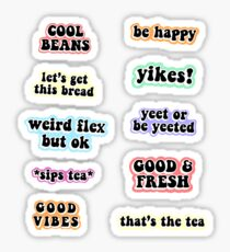 Memes Pack Rainbow Sticker