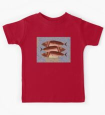THREE CAREFREE FISH Kids Clothes