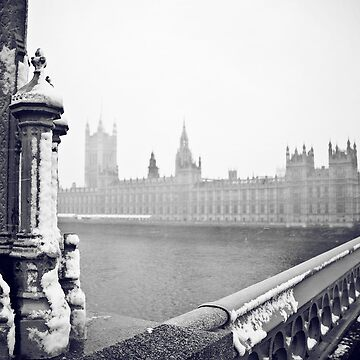 London Snow by CreativeFairy