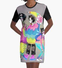Ladies Graphic T-Shirt Dress
