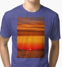 Sunrise in the Aegean Tri-blend T-Shirt