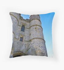 Donnington Castle - nr Hungerford Throw Pillow