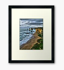 Scenic View ~ HDR Framed Print
