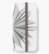 Muster 04 iPhone Flip-Case/Hülle/Skin