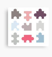 Puzzle Piece Canvas Print