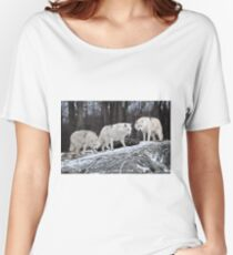 Arctic Wolves  Women's Relaxed Fit T-Shirt