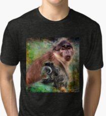 Monkeys  Tri-blend T-Shirt