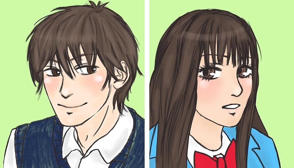Sawako & Shota by rosemask22