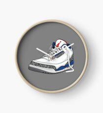 """Air Jordan 3 (III) """"WAHR BLAU"""" Uhr"""