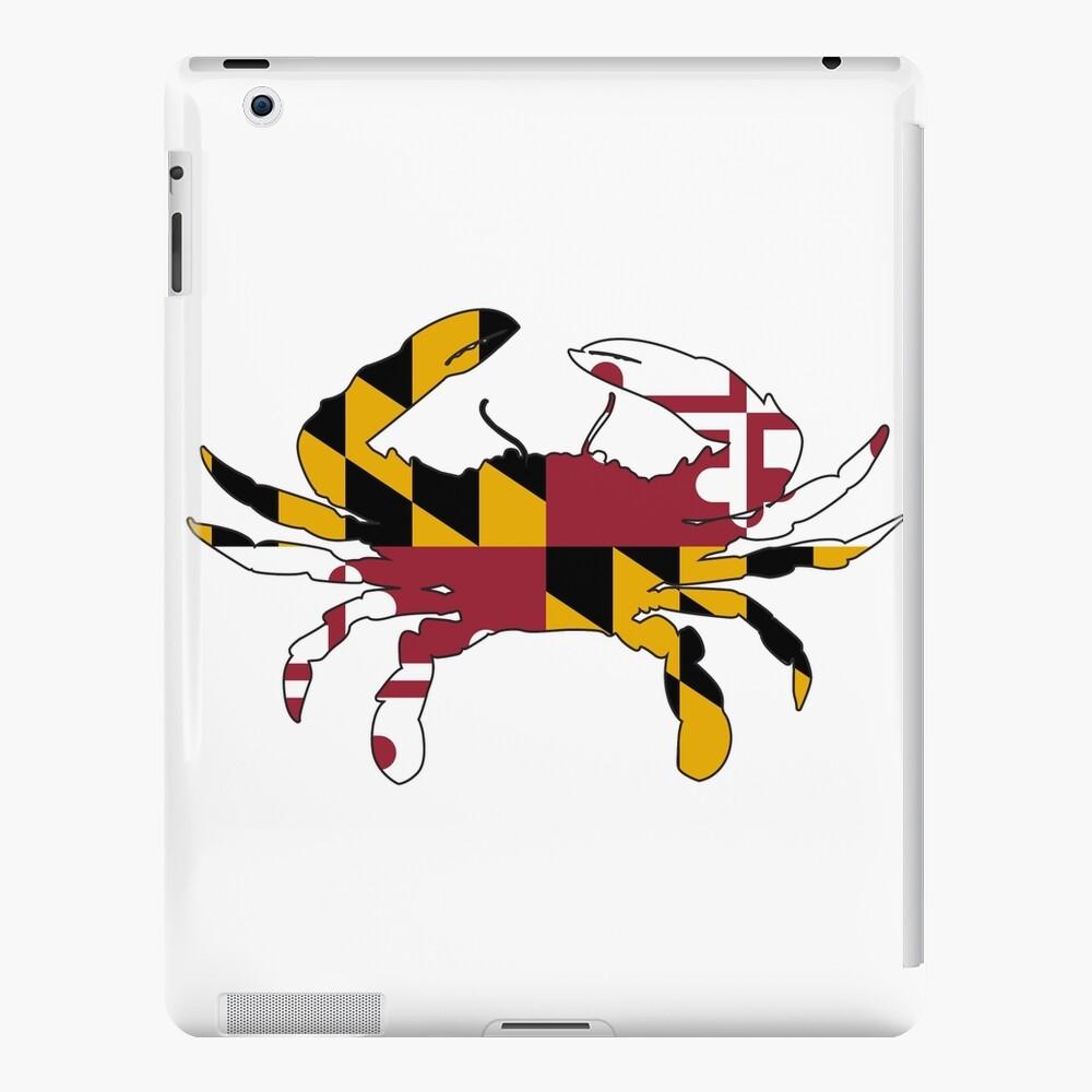 Cangrejo de la bandera de Maryland Funda y vinilo para iPad