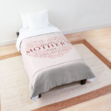 Happy Mothers Day Comforter
