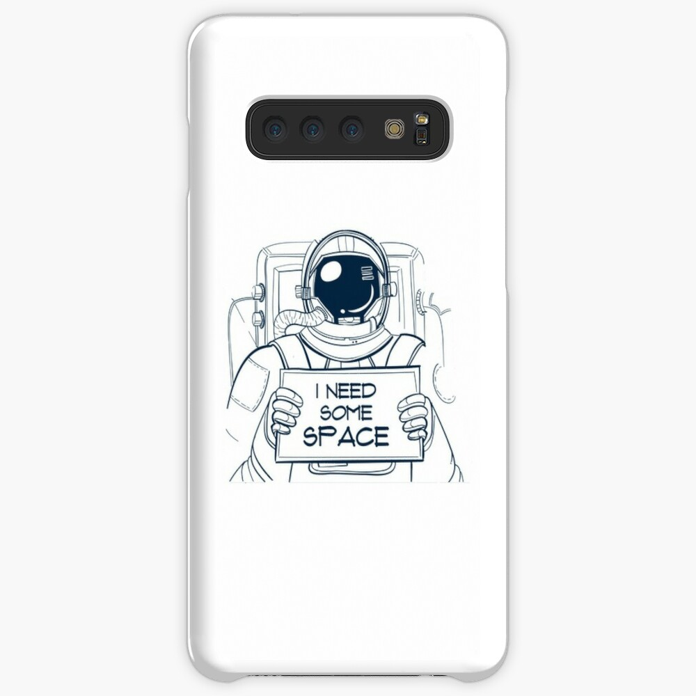 Astronaut I need some space Case & Skin for Samsung Galaxy