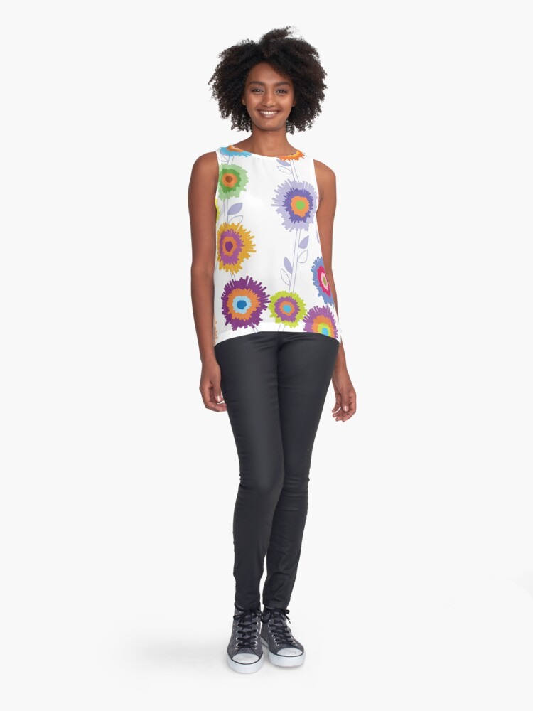 Alternate view of PINATA BLOSSOM Sleeveless Top