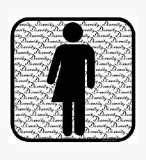 Diversity symbol (b) Photographic Print