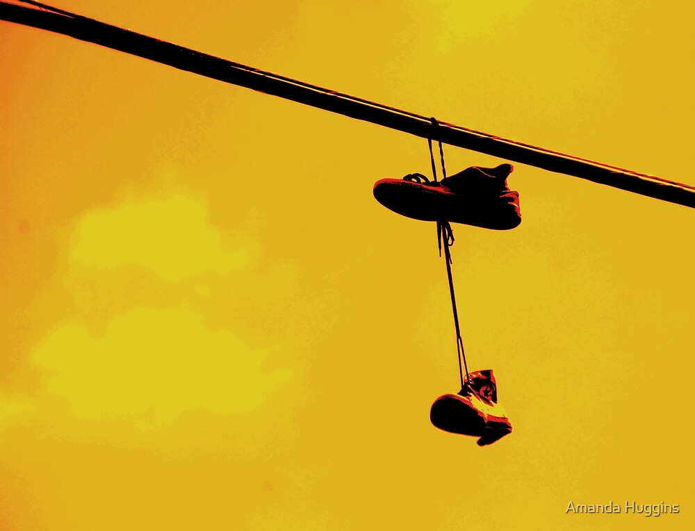 converse on the wire by Amanda Huggins