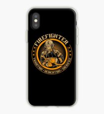 Firefighter by tradition iPhone Case