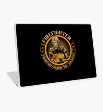 Firefighter by tradition Laptop Skin
