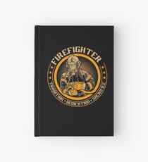 Firefighter by tradition Hardcover Journal