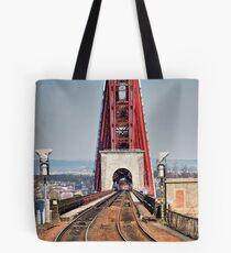 Rail Route Over Forth Bridge Tote Bag