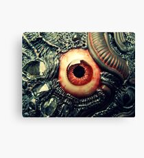 biomechanical eye Canvas Print