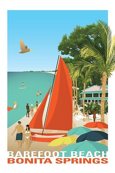 Bonita Strand Florida von MOW Creative