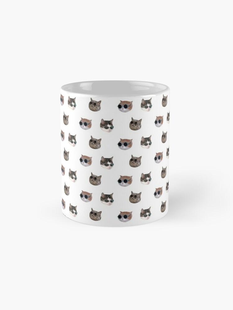 Alternate view of Cool Kitties Sticker-pack Mug