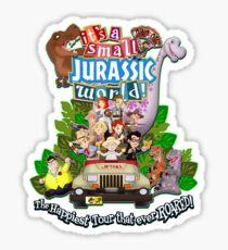 It's a Small Jurassic World (1A) Sticker
