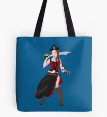 Kindra The Wicked Pirate  Tote Bag