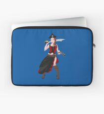 Kindra The Wicked Pirate  Laptop Sleeve