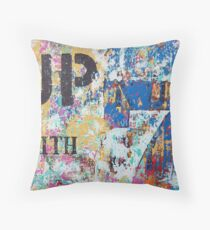Up with 7 Throw Pillow