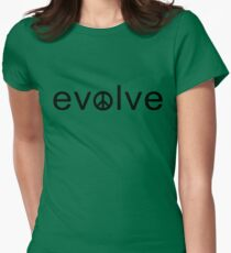 Evolve: Coexist in Peace Women's Fitted T-Shirt
