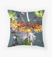Nectaring in the Sunlight Throw Pillow