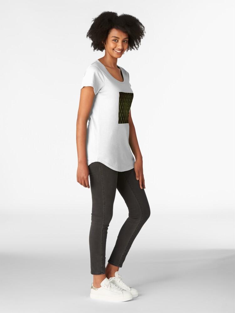 Alternative Ansicht von Art Deco Le Carnaval Muster Premium Rundhals-Shirt