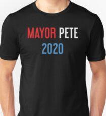 Bürgermeister Pete 2020 - Buttigieg Slim Fit T-Shirt