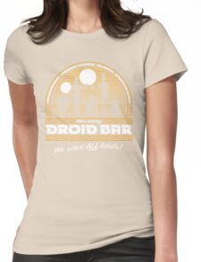 Droid Bar Womens Fitted T-Shirt