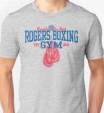 Rogers Boxing Gym Slim Fit T-Shirt