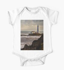 St Mary's Island in December One Piece - Short Sleeve