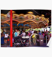 The Carousel-Hershey Park, PA Poster