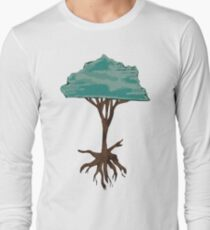 Floating Tree Long Sleeve T-Shirt