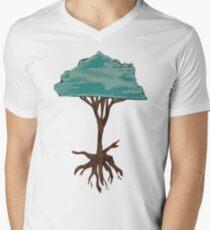 Floating Tree Men's V-Neck T-Shirt