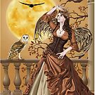 Owl Fairy Angel Masquerade Ball by Alison Spokes