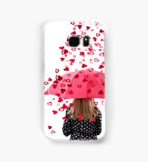 A Woman Showered with Love  Samsung Galaxy Case/Skin