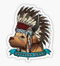 Pitting Bull Sticker