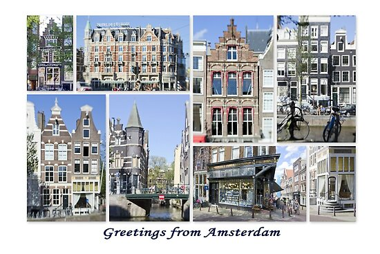 Greetings from Amsterdam by Kasia-D