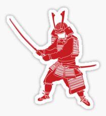Samurai (RED) Sticker